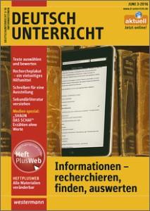 Deutschunterricht 3.2016